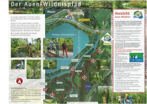 Auen-Wildnis pfad