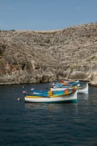 Embarcadère pour Blue Grotto