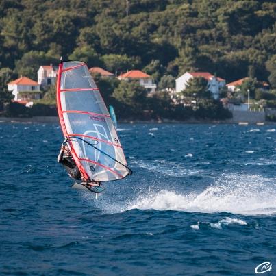 Windsurf le saut